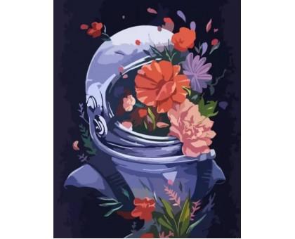 Картина по номерам Космические цветы