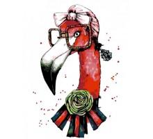 Картина по номерам Fashion Flamingo