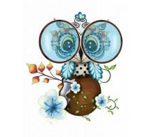 Картина по номерам Cute Owl