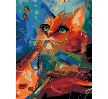 Картина по номерам Bright Cat