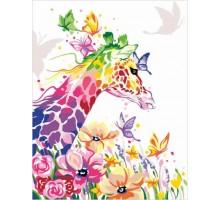 Картина по номерам Жирафа мечтательница