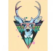 Картина по номерам Cool deer