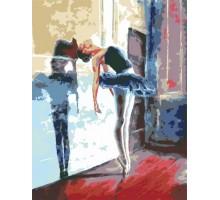 Картина по номерам Балерина