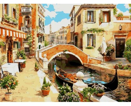 Картина по номерам Венецианский мостик