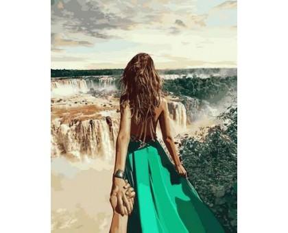 Картина по номерам Следуй за мной. Бразилия