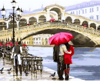 Картина по номерам Отражение Венеции