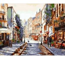 Картина по номерам Париж. Утро после дождя