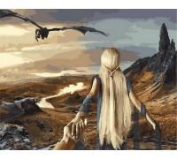 Картина по номерам Следуй за мной Игра престолов