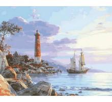 Картина по номерам К далеким берегам