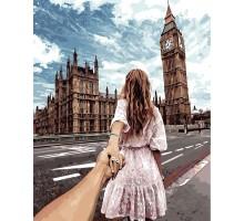 Раскраска по номерам Следуй за мной Лондон