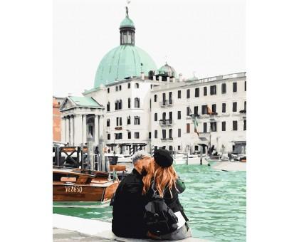 Картина по номерам Мятная Венеция