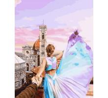 Раскраска по номерам Следуй за мной Флоренция
