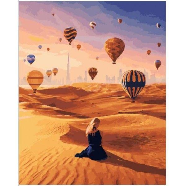 Картина по номерам Магия песка