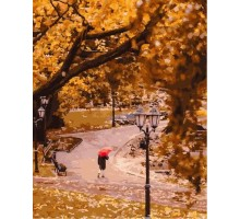 Картина по номерам Осень в центральном парке