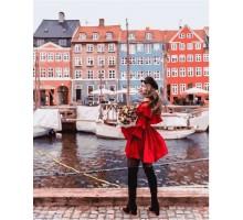 Картина по номерам На пристани Амстердама