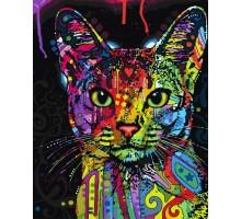 Картина по номерам Абиссинскя кошка