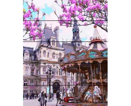 Картина по номерам Площадь в Праге