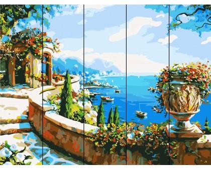 Картина по номерам Ротонда у моря