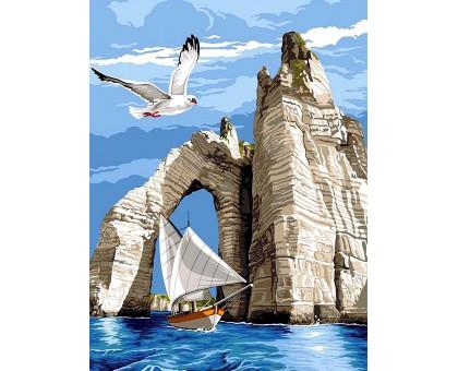 Картина по номерам Белые скалы