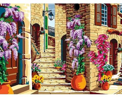 Картина по номерам Старинная лестница
