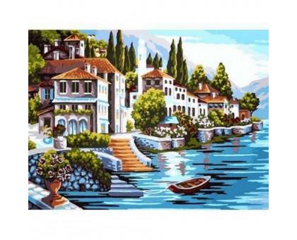 Картина по номерам Белоснежная гавань