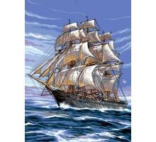 Картина по номерам На всех парусах