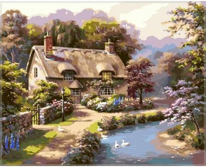 Картина по номерам Лето в деревне