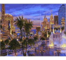 Картина по номерам Вечер в Вегасе