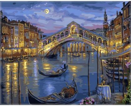 Картина по номерам Большой канал Венеции