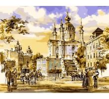 Картина по номерам Андреевская церковь