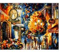 Картина по номерам Кафе в старом городе