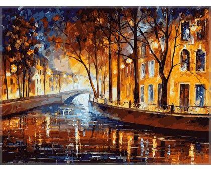 Картина по номерам Осенняя мелодия