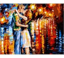 Картина по номерам Прощальный поцелуй