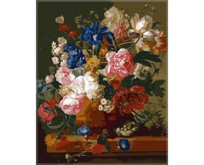 Картина по номерам Натюрморт с цветами