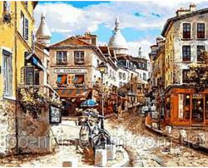 Картина по номерам Монмартр Сакре-Кер