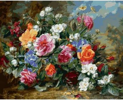 Картина по номерам Роскошные розы