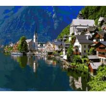 Картина по номерам Альпийский город