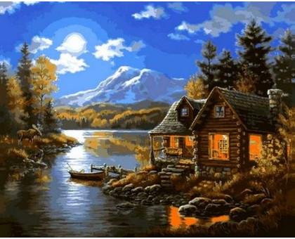 Картина по номерам Осенняя идиллия