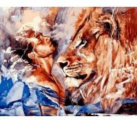 Картина по номерам Его лев
