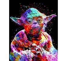 Картина по номерам Звездные войны Мастер Йода