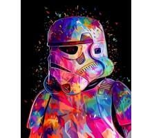 Картина по номерам Звездные войны Штурмовик