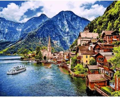 Картина по номерам Летняя Австрия