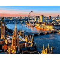 Картина по номерам Лондон Вид на Темзу