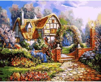 Картина по номерам Сказочный сад