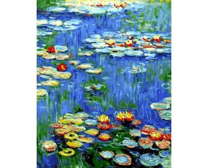 Картина по номерам Водяные лилии Клод Моне
