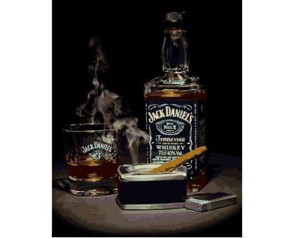 Картина по номерам Джек Дэниэлс 2