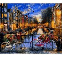 Картина по номерам Вечерний Амстердам