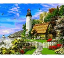Картина по номерам Дом смотрителя маяка