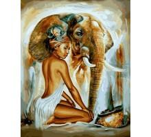 Картина по номерам Африканский колорит