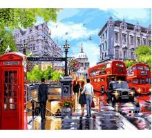 Картина по номерам Весна в Лондоне